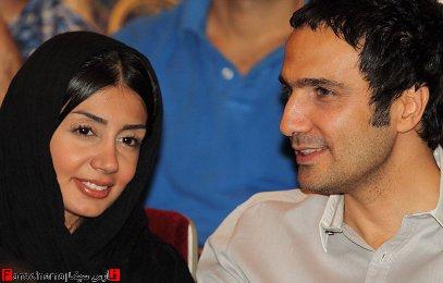 محمدرضا فروتن و همسرش در یک مراسم : عکس جدید