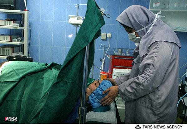 زایمان یک زن با هیپنوتیزم در ایران : تصاویر