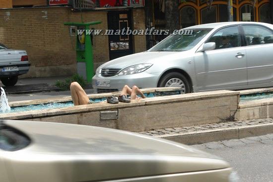 حمام کردن در بلوار دانشجو شیراز - این دیگه آخرشه