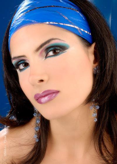 مدل آرایش عربی : تصاویر