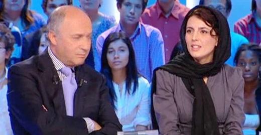 لیلا حاتمی در شبکه های تلوزیونی فرانسه (+تصاویر)