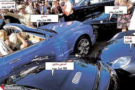 رکورد گرانترین تصادف جهان رقم خورد (+تصاویر)