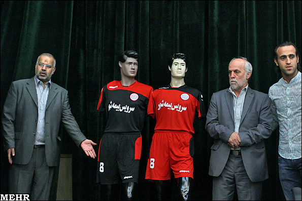 رونمایی لباس جدید تیم پرسپولیس + عکس