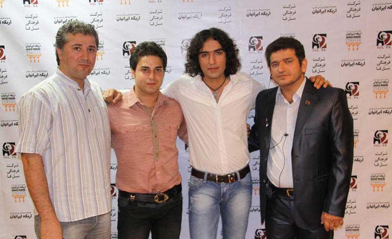کنسرت رضا یزدانی با حضور ستارگان سینما (تصاویر)