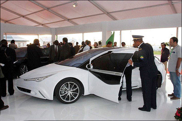 امن ترین و زیباترین خودروی جهان + عکس