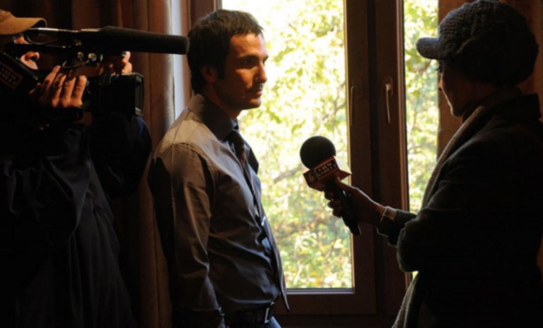 نیکی کریمی,لعیا زنگنه,محمدرضا فروتن در فیلم سینمایی خیابان های آرام