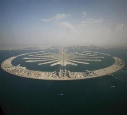 ساخت جزایر مصنوعی در دبی : عکسهای جالب