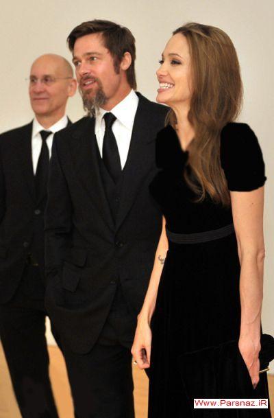 جدیدترین عکسهای آنجلینا جولی و براد پیت بازیگران معروف هالیوود