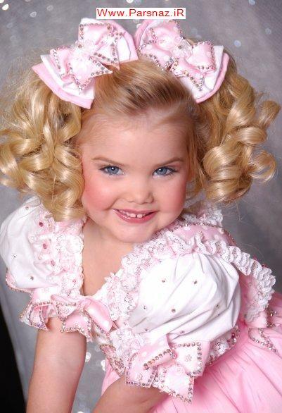 عکسهای بسیار دیدنی از دختری که ملکه زیبایی کودکان شد