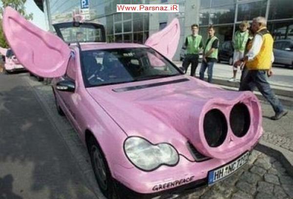 عکس های از تغییرات بسیار دیدنی از اتومبیل ها