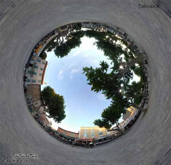 عکس های جالب و دیدنی 360 درجهای