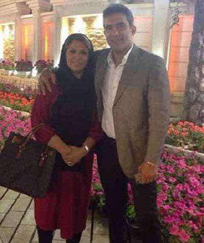 احمدرضا عابدزاده و خانواده اش (فوتبالیست)