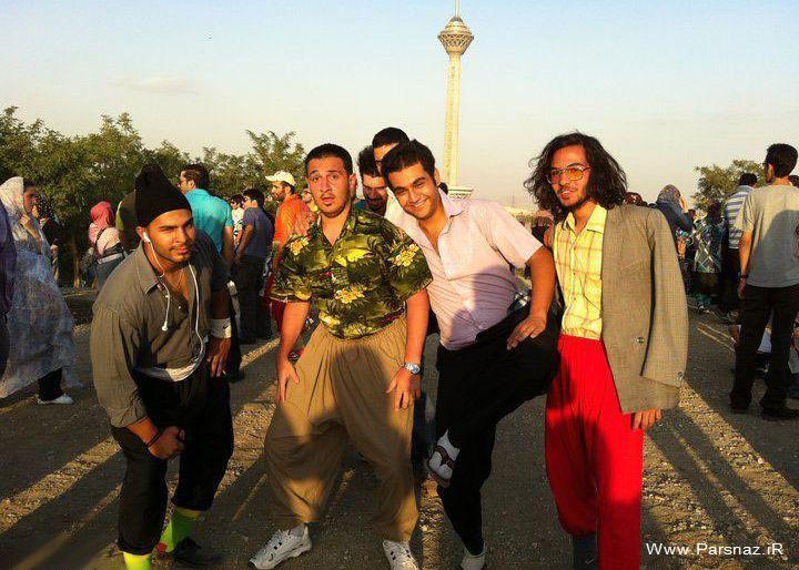 عکس های دختر و پسرهای خزباز در پارک پردیسان | انجمن های ...