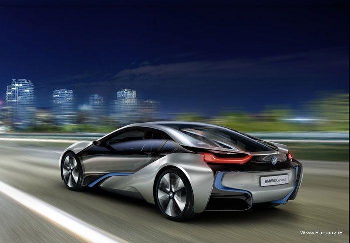 عکسهای جدید ترین ماشین lhadk BMW i8 Concept 2011