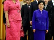 تفاوت دیدنی قد همسر رؤسای جمهور کامرون و چین +عکس