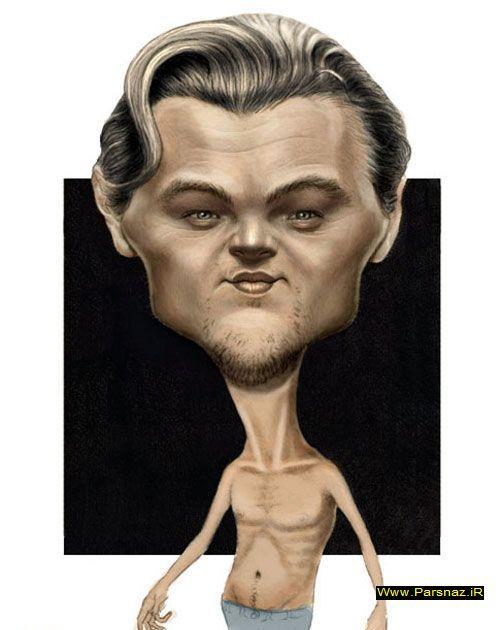 عکس هایی از کاریکاتورهای افراد معروف دنیا