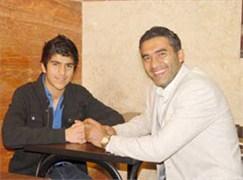 مصاحبه پسر عابدزاده به رئال مادرید میرود ! عکس