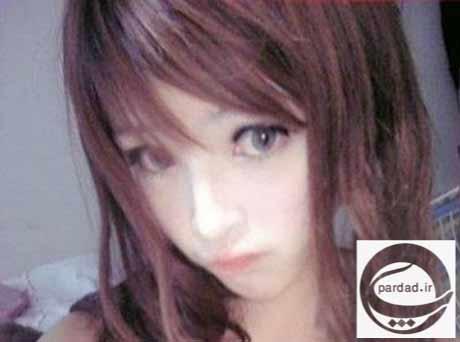 عکس دختری زیبا که شباهت زیادی با عروسک دارد