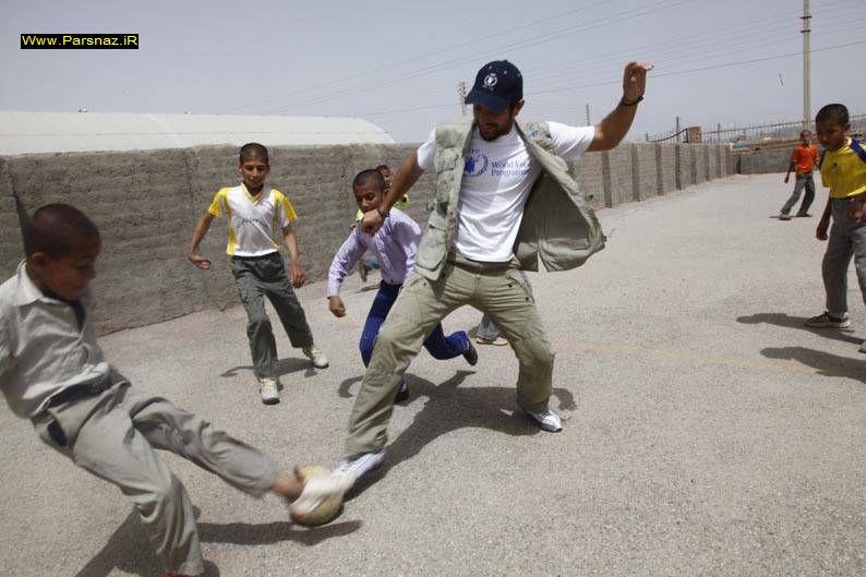 بهرام رادان از کمپ پناهندگان افغان بازدید کرد +عکس