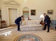 عکس هایی دیده نشده از اوباما در کاخ سفید!!