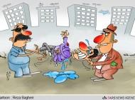 مشکلات مستاجر بودن !  (کاریکاتور)