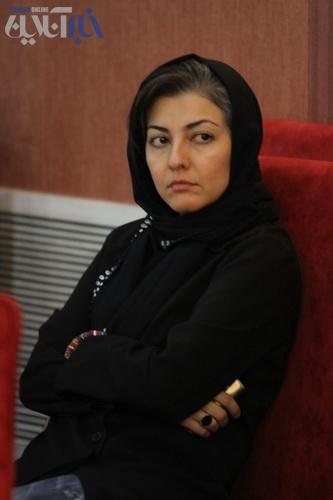 عکسهای بازیگران در مراسم هفت ناصر حجازی