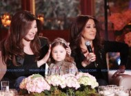 عکس نانسی عجرم در کنار دختر و مادرش