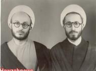 آیت الله سبحانی و آیت الله مکارم شیرازی در جوانی + عکس