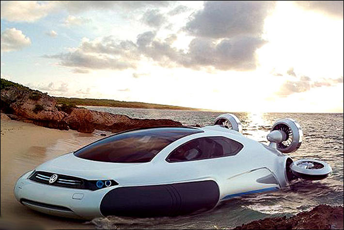 دیدن خودروی آینده + عکس