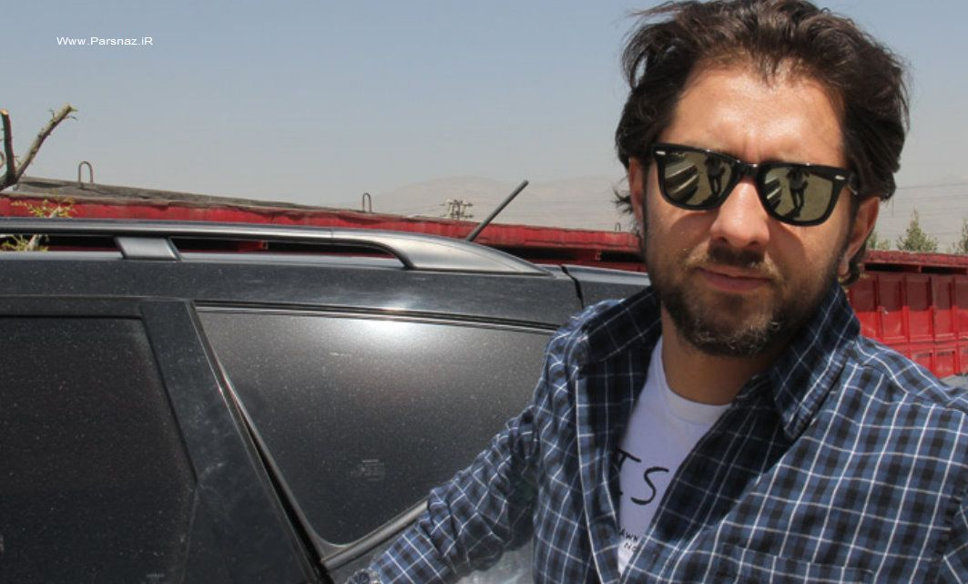 عکسهای بهرام رادان در پیست کارتینگ آزادی