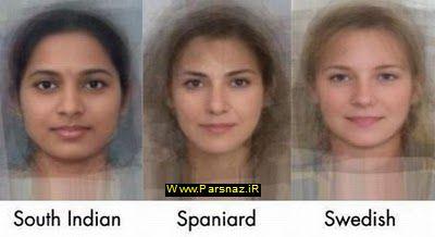 چهره متوسط از زنان در سراسر جهان