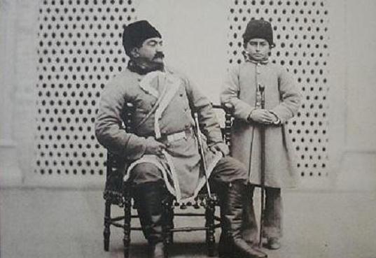 عکس پسر و نوه ناصرالدین شاه!!
