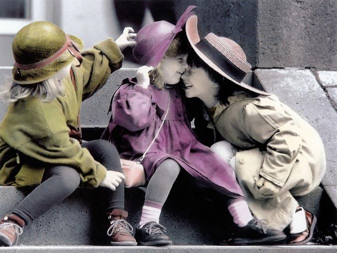 دنیای کودکان عاشق + عکس