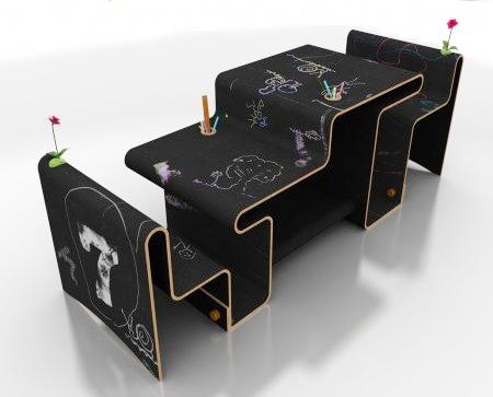 مدل میز وصندلی زیبا برای کودکان