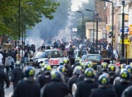 ناآرامی و خشونت در لندن + عکس
