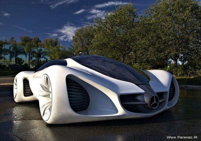 عکس هایی از ماشین  Mercedes Benz Biome Concept
