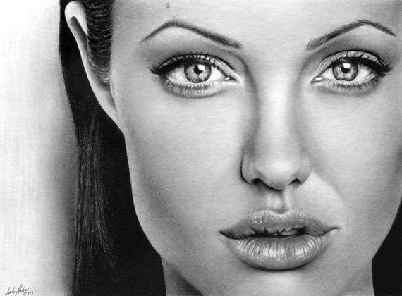 نقاشی های زیبا از افراد مشهور جهان