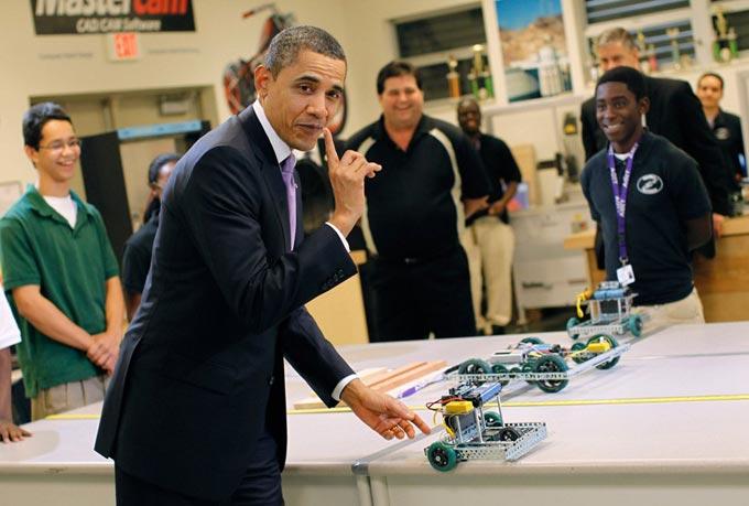 سیاست های آمریکا برای توسعه رباتیک + عکس