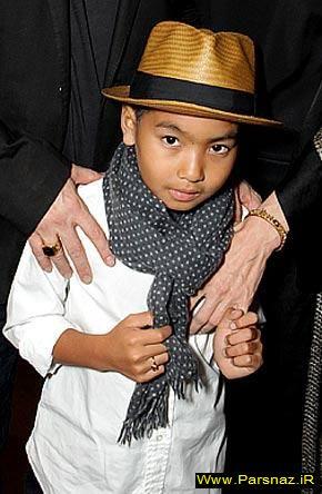 ورود رسمی پسر آنجلینا جولی به دنیای هالیوود + عکس