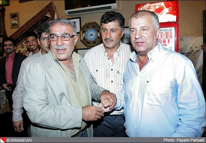 مراسم افطاری علی پروین در باشگاه ورزشی پرسپولیس