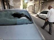 عکس هایی از اربده کشی اراذل و اوباش و تخریب خودروها