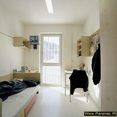 پرداخت 30 دلار برای یك شب اقامت در یک زندان !