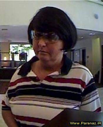 دزدی یک زن با چهره های مختلف + عکس