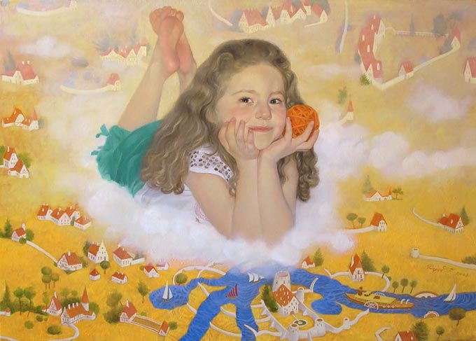 نقاشی های زیبا و بی نظیر از Tatiana Deriy !