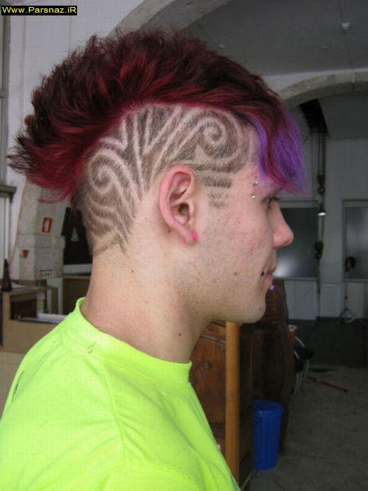 عکس هایی از عجیب ترین مدل موهای فشن جهان