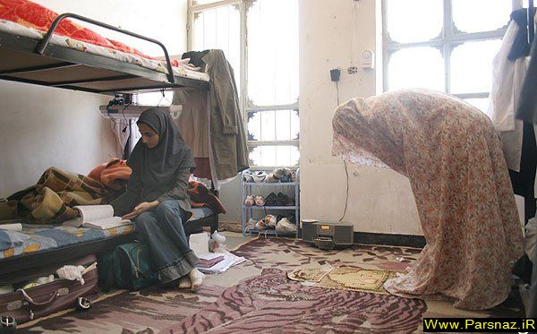 عکسی دیدنی از خوابگاه دختران ایرانی