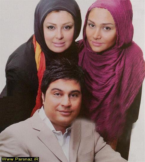 مصاحبه با نیوشا ضیغمی و همسرش + عکس