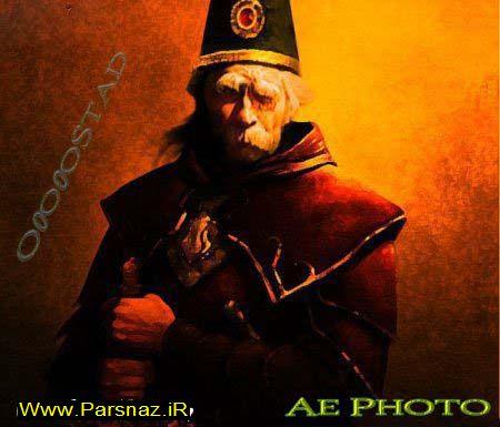 خنده دارترین عکس ها از باباشاه در صحنه های بین المللی