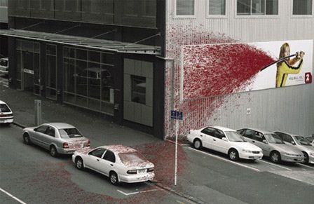 عکسهایی از جالب ترین تبلیغ های جهان که باید ببینید
