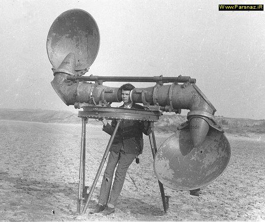 عکس هایی از ردیاب های صوتی ، رادار های گذشته